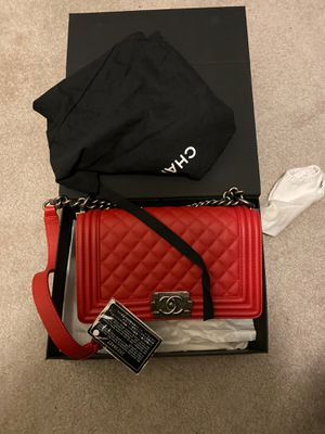Chanel boy bag medium for Sale in UNIVERSITY PA, MD