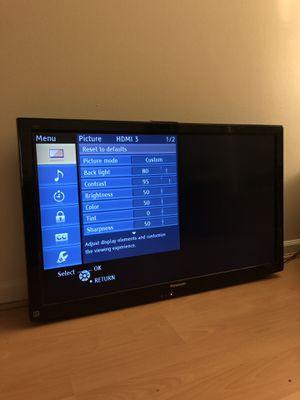 "Panasonic 42"" Plasma TV for Sale in Alexandria, VA"