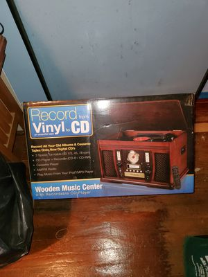 Record Vinyl & CD Player for Sale in Chicago, IL