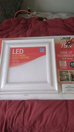 Feit led flat panel light fixture for Sale in Austin, TX