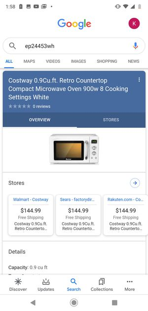 New Compact Counter Top Microwave for Sale in Los Angeles, CA