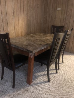 kitchen Table and Four Chairs for Sale in Oceano, CA