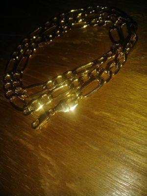 10k gold Figaro chain for Sale in Roseville, MI