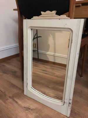 Antique vintage wall mounted vertical mirror for Sale in Seattle, WA
