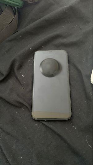 Black iPhone 11 locked for Sale in Waterbury, CT