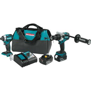 Makita 18-Volt LXT Lithium-ion Brushless Cordless 2-piece Combo Kit (Hammer Drill/ Impact Driver) 5.0Ah for Sale in Modesto, CA