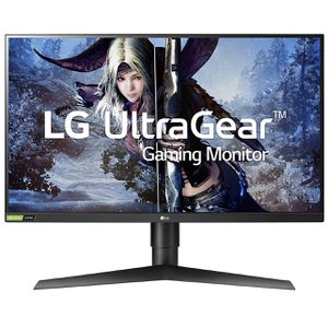 LG 27GL83A-B 27 Inch Ultragear QHD IPS 1ms 1440p 144Hz NVIDIA G-SYNC Compatible Gaming Monitor for Sale in San Jacinto, CA