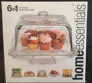 """6in1 10"""" square footed cake dome Brand New for Sale in San Diego, CA"""