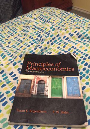 Principles of Macroeconomics for Sale in Abilene, TX