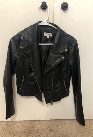 Faux leather jacket for Sale in Fort McDowell, AZ