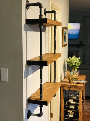 Homestead Chic pipe shelves for Sale in Austin, TX