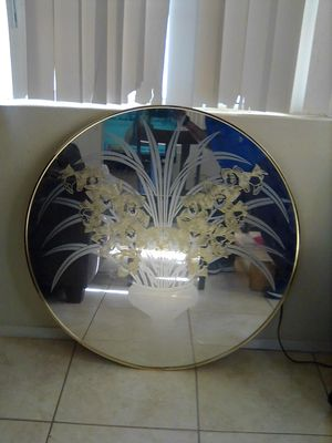 Nice flower Wall mirror for Sale in Palmdale, CA