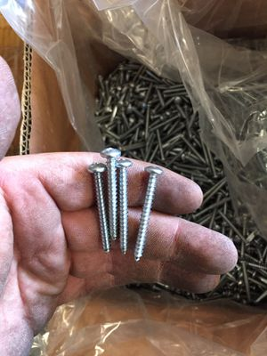 Sheet metal screws aka Tapping screws. About 14 boxes available of 6,000 pieces each. $30 for Sale in Norwalk, CA