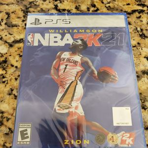 Ps5 Nba 2k21 New for Sale in New Britain, CT