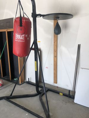 Punching bag and speed bag for Sale in Las Vegas, NV