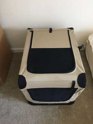 Portable Folding dog crate 30x22x22 for Sale in San Diego, CA