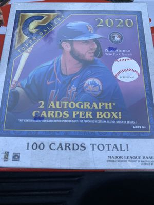 2020 Topps Gallery MLB Baseball Trading Cards Monster Box- 2 Autographs Per Box | 100 Cards for Sale in Elk Grove, CA