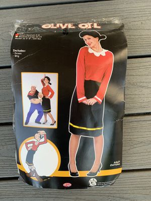 Olive Oil costume - women's size small/medium 2-8 for Sale in South Gate, CA