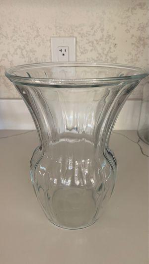 Glass flower vase for Sale in Phoenix, AZ