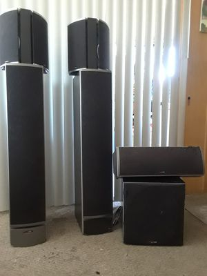 Polkaudio surround sound speakers for Sale in Vallejo, CA