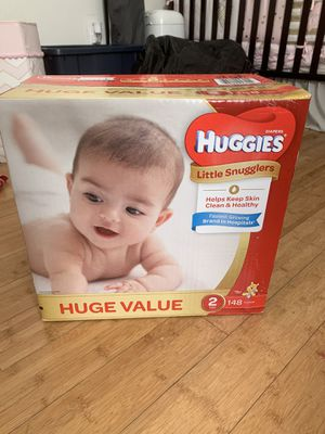 Diapers Newborn- Size 2 . for Sale in Portsmouth, VA