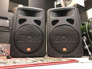 JBL Eon15 G2 Powered Speakers for Sale in Vista, CA