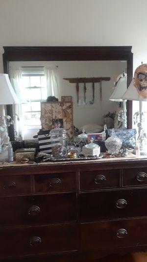antique dresser with mirror for Sale in Pico Rivera, CA
