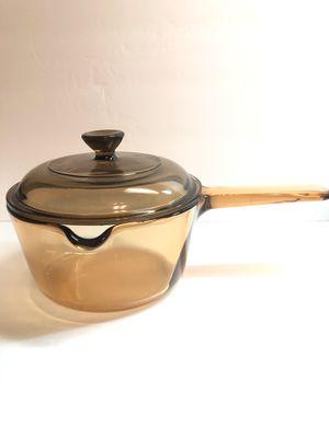 Corningware Visions 1 liter Pour Spout Saucepan for Sale in Alamogordo, NM