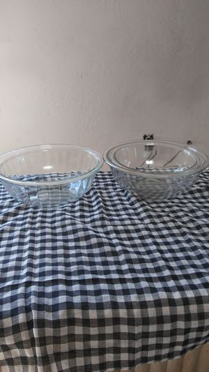 3 Pyrex glass Bowl set for Sale in Orangevale, CA