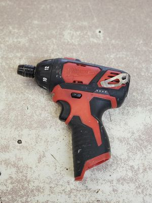 Milwaukee 12 volt Screwdriver Drill for Sale in Austin, TX