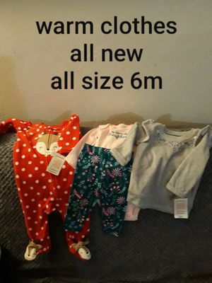 New warm clothes,, all from target. Size 6m for Sale in San Jose, CA
