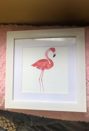 Flamingo and Cactus Painting for Sale in Normal, IL