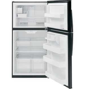 Gie21gthbb – Ge® Energy Star® 21.1 Cu. Ft. Top-freezer Refrigerator for Sale in Portland, OR