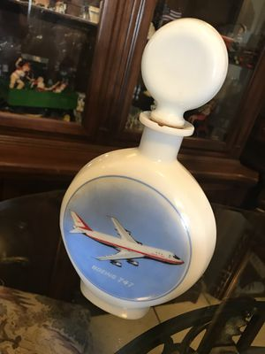 Collectible whiskey bottle Boeing for Sale in Everett, WA