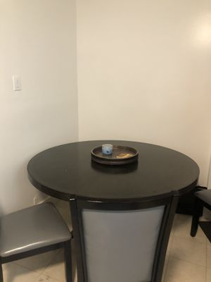 Lightly used black wooden table (price negotiable) for Sale in San Francisco, CA