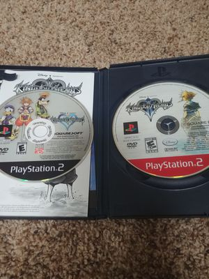 Kingdom of hearts 1 & 2 and Xmen Academy for PS1 for Sale in Rowlett, TX