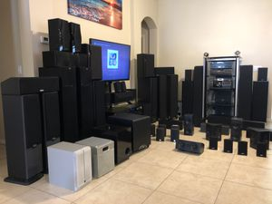 SPEAKERS RECEIVERS MANY BRANDS. ** PRICES SUBJECT TO SELECTION** for Sale in Orlando, FL