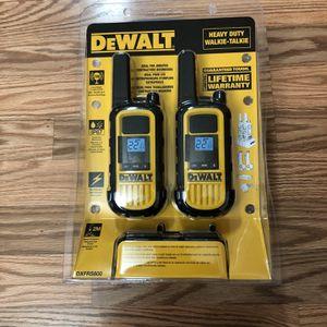 DeWalt Heavy Duty FRS 2-Way 2-Watt Radio Set (2-Pack) for Sale in Portland, OR