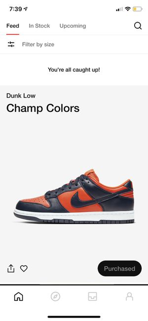 Nike Dunk Low SP Champ University Orange Marine Champ Colors for Sale in San Diego, CA