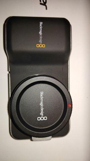 Blackmagic Pocket Cinema Camera for Sale in Buckley, WA