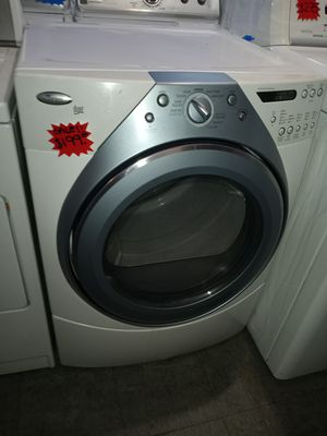 🔥🔥SALE 🔥🔥WHIRLPOOL DUET ELECTRIC DRYER WORKING PERFECT W/4 MONTHS WARRANTY for Sale in Baltimore, MD