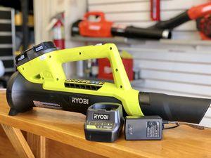 Ryobi 18v Cordless Leaf Blower Kit for Sale in Garden Grove, CA