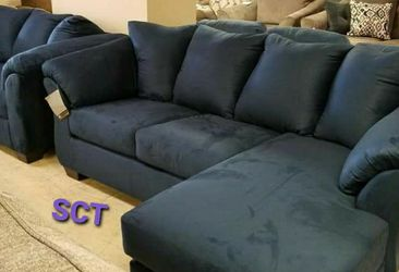 ***Darcy Black Sofa Chaise*** for Sale in Houston,  TX