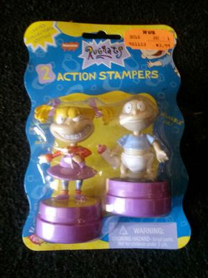 Rugrats 2 Action Stampers MIP for Sale in Westminster, CA