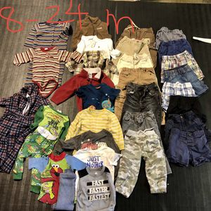 Baby Boy Clothes Size 18-24 Months for Sale in Placentia, CA