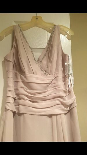 Brand new .. Elegant classy full length dress for any occasion... prom,wedding, anniversary for Sale in Gainesville, VA