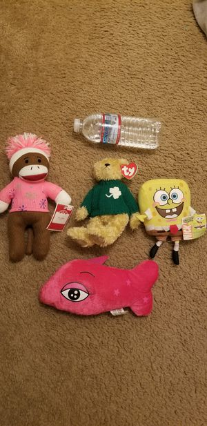 New stuffed animals all for 10 for Sale in Garden Grove, CA