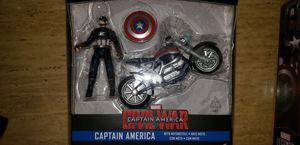 Marvel Legends Avengers Civil War Captain America Motorcycle for Sale in Elmwood Park, IL
