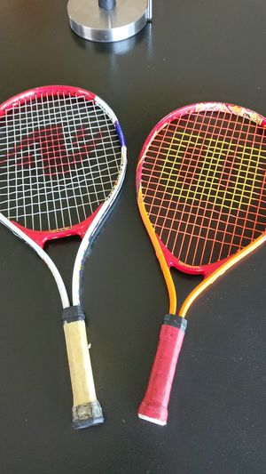 2 junior tennis rackets for Sale in Atwater, CA