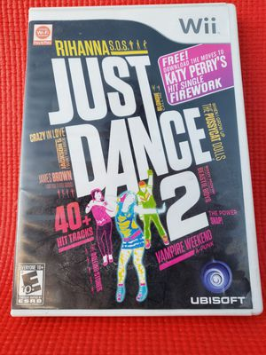 Just dance 2 wii for Sale in Norwalk, CA
